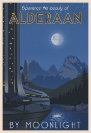 Alderaan By Moonlight