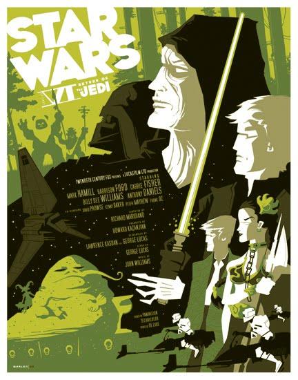 Return Of The Jedi - Tom Whalen