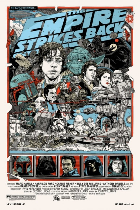 The Empire Strikes Back - Tyler Stout