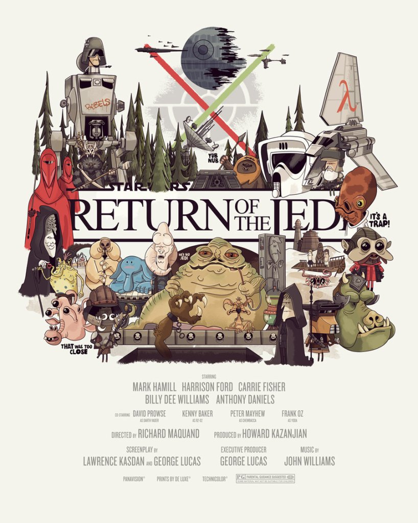 Return Of The Jedi - Christopher Lee