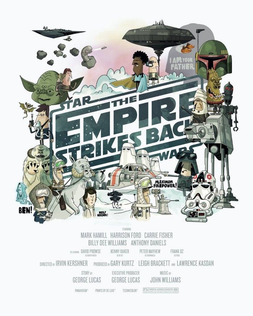 The Empire Strikes Back - Christopher Lee