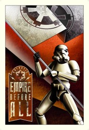 Star Wars Propaganda Posters - Mike Kungle