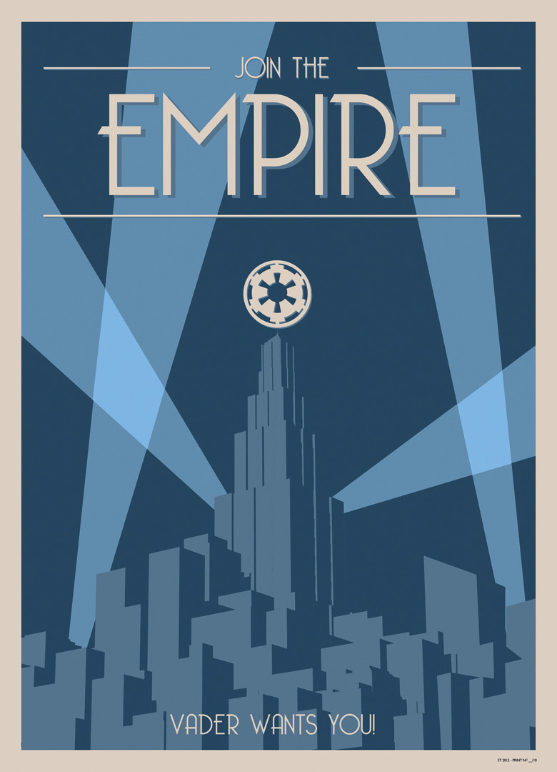 star wars posters propaganda jasonrmsmith. Black Bedroom Furniture Sets. Home Design Ideas